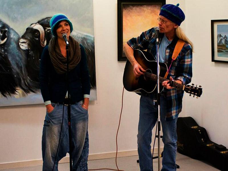 Gjenhør med festspillukas minikonserter i Harstad kunstforening