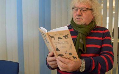 Edvin Eriksen leser fra sin nyeste bok – Sleivspark og andre kåseri – fredag 23. juni